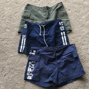 Bundle of Abercrombie and Fitch shorts Small